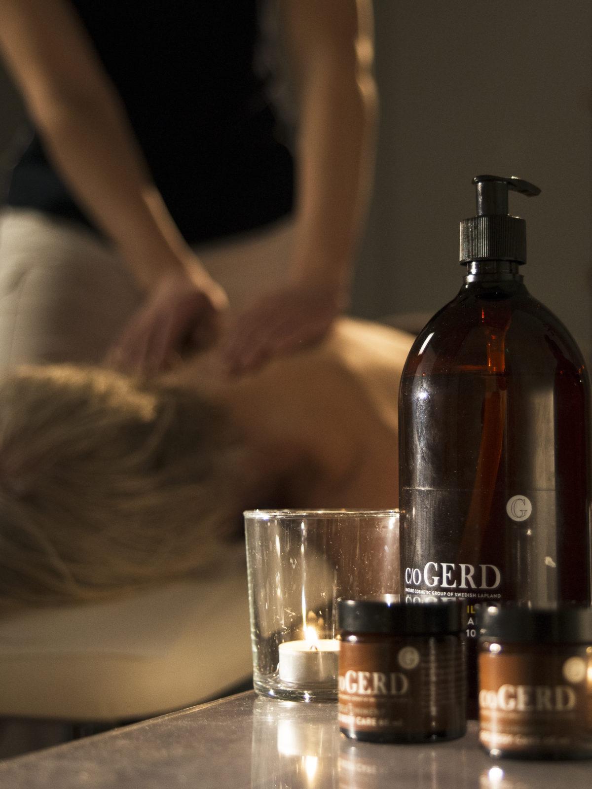 Musarm- massage triggerpunkter