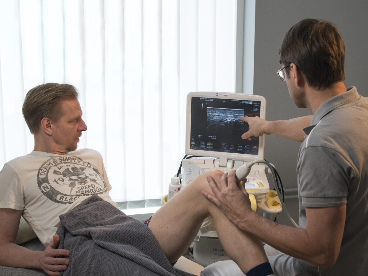 Chondromalacia ultraljudsdiagnostik